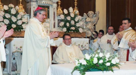 don Pasquale Fabbiano: nuovo Parroco della Chiesa Madre di Racale